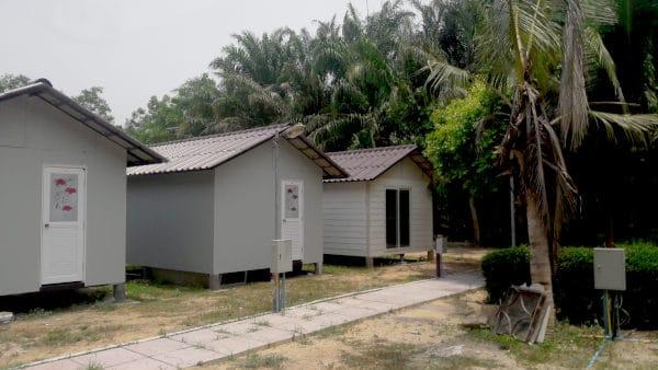 semi built house